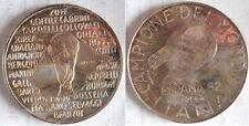 Medaglia ufficiale della zecca in argento mondiali di calcio in Spagna 1982