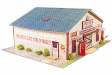 1:64 Slot Car Ho Scale Speedy's Garage Photo Real Model Scenery Track Layouts