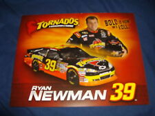 2011 RYAN NEWMAN #39 TORNADOS NASCAR POSTCARD