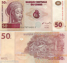 CONGO 50 FRANC 1 UNC NOTE