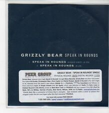 (DQ619) Grizzly Bear, Speak In Rounds - 2012 DJ CD