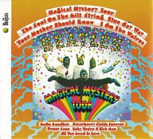 THE BEATLES magical mystery tour (CD album, Deluxe Edition, remastered, limited)