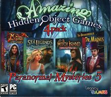 Paranormal Mysteries 5: Amazing Hidden Object Games (4 Pack) - PC New