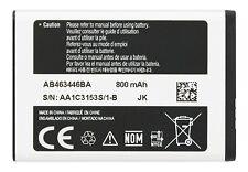 100% New Battery AB463446BA AB463446BU for SAMSUNG C3590 E2330 E250 800mAh