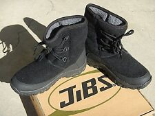 SNOW BOOTS, AFTER SKI boots, after SNOWBOARDboots, JiBS, BLACK LACE, SIZE US 10