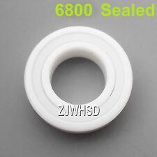 6800 Sealed Full Ceramic Zirconia Oxide Bearing ZrO2 10x19x 5mm Self-lubricating