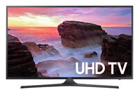 "Samsung UN55MU6300 55"" 4K Ultra HD Smart LED TV (2017 Model)"