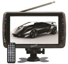 Supersonic 7-inch Portable Digital Rechargeable LCD TV w/ USB & SD Card Input