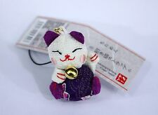 Phone strap - Manekineko tissu - Import Japon
