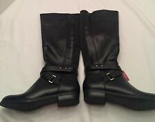 Brand new womens Merona Morgan knee high black boots size 6.5