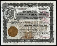 1903 Fort Worth, Texas: Continental Bank & Trust Co.