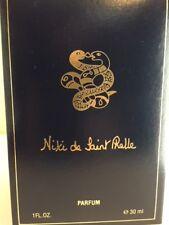 Niki de Saint Phalle 1.0 oz  Pure Perfume for Women TWIN SNAKE STOPPER Bottle