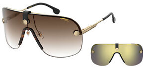 Carrera CA EPICA II Gold/Brown Shaded  Gold Lens 99/1/120 unisex Sunglasses