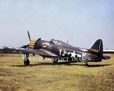 USAAF WW2 P-47 Fighter My Best Bett 8x10 Color Nose Art Photo 353rd FG Raydon