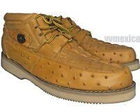 new CROCODILE ALLIGATOR OSTRICH PRINT LEATHER CASUAL SHOE 100% leather