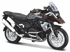 BMW R 1200 GS 2017 Dark Red/Gray, maisto Motorcycle Model 1:18