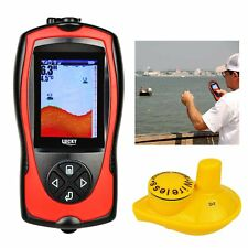 Lucky Wireless Fish Finder Detector Fishing Alarm Depth Range 0.7-45M (2-147ft)