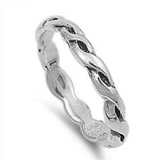 Toe Ring Genuine Sterling Silver 925 Assorted Sizes Face Size 3 mm Jewelry