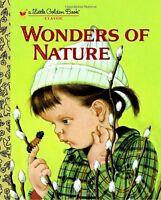 Wonders of Nature (Little Golden Book) by Jane Werner Watson