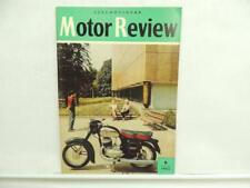 1962 Czechoslovak Motor Review Vol. 6 Magazine CZ 125 175 250 Jawa 350 L11842