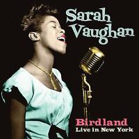 Sarah Vaughan - Birdland: Live In New York (2019)  CD  NEW/SEALED  SPEEDYPOST