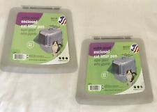 2 Extra Large Cat Litter Box Enclosed Pan DOOR REPLACEMENT PARTS ONLY
