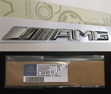 Mercedes AMG Badge Emblem C E A S Class Top Quality