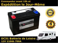 Titanium 110Ah Batterie de Loisirs / Caravane - 4 ans de garantie - DC31