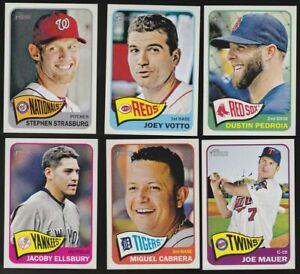 2014 Topps Heritage Short Prints SP (426-500) - You Pick - Complete Your Set