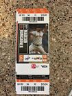 2017 CODY BELLINGER DEBUT GIANTS LOS ANGELES DODGERS Season Ticket 4/25 Stub