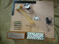 Vgt. Craftool leather tools, patterns, leather