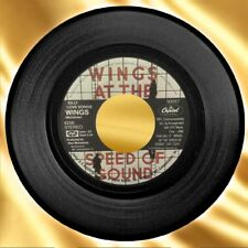 1976 Wings ~ Paul McCartney 'Silly Love Songs/Cook Of The House' Capitol 45 RPM