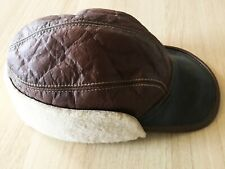 More details for eastman leather cap b-2 rough wear army air force amazing condition size 7 3/8