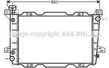 AVA COOLING SYSTEMS Radiador FD2254