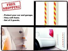 Car Door Protector Vehicle Bumper Garage Wall Guard 2 Reflective Strips Park Pad