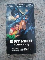 Batman Forever VHS Video Tape Movie 122 min 1995 Nicole Kidman Jim Carrey