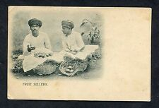 C1920's View of a Pair of Indian Fruit Sellers.