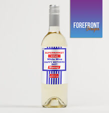 Personalised XMAS spoof wine bottle label, Excellent CHRISTMAS/NEW YEAR Gift!