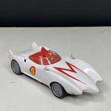 Rare 2008 Hot Wheels Speed Racer Movie Mach 5 Plastic Diecast Car Set
