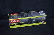 Ryobi Universal Water Pump Wet Saw Blade Filter 40 GPH Submersible Pool Pond NEW