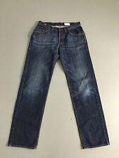 Para Hombre Hugo Boss 'Comfort Fit' Jeans-W32 L34-lavado azul marino oscuro-Excelente Estado