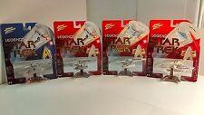 Johnny Lightning - Legends of Star Trek - Lot of 4 - RARE!