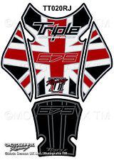 Triumph Street Triple Daytona 675 13 - 16 Motorcycle Tank Pad 3D Gel Protector