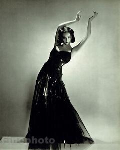 1937 GEORGE PLATT LYNES Ballet Dancer SONO OSATO Glamour Fashion 13x10 Photo Art