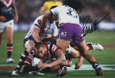 Jared Waerea-Hargreaves Hand Signed 12x8 Photo - NRL Autograph Rugby League.