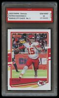 PATRICK MAHOMES II 2020 PANINI DONRUSS HIGHLIGHTS CARD 1ST GRADED 10 KC CHIEFS