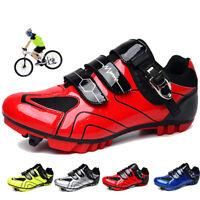 Mountain Bike Cycling Shoes Men Professional Racing Sneakers Peloton SPD Cleats