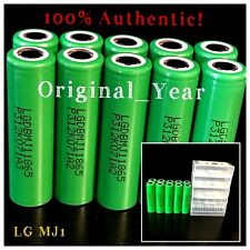 2 LG Mj1 18650 3500mah High Drain Rechargeable Battery 10a XTAR Vc2 Charger
