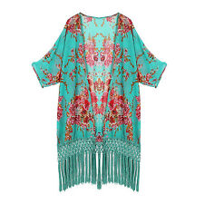 Womens Beachwear Bikini Beach Wear Cover Up Kaftan Summer Shirt Dress HY