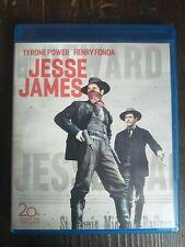 Jesse James 1939 Blu-ray Region Free Henry Fonda Tyrone Power Western